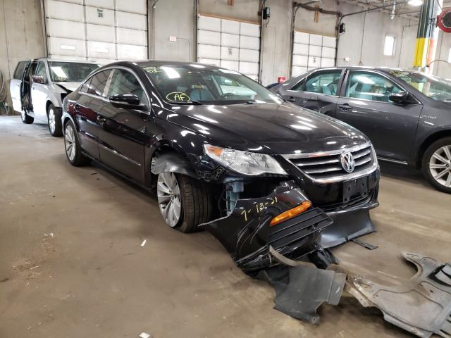 Salvage cars for sale from Copart Blaine, MN: 2012 Volkswagen CC Sport