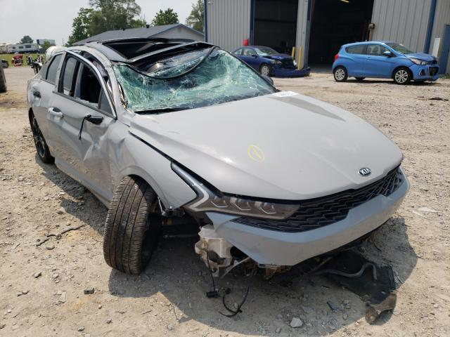 Salvage cars for sale from Copart Sikeston, MO: 2021 KIA K5 GT Line