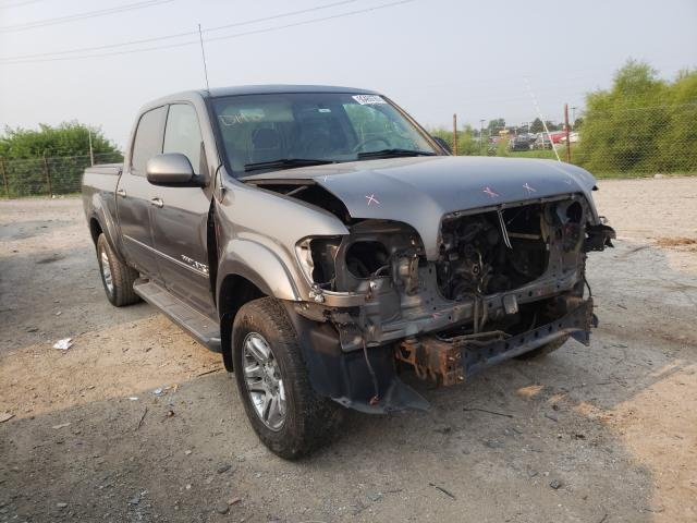 Salvage cars for sale from Copart Indianapolis, IN: 2006 Toyota Tundra DOU