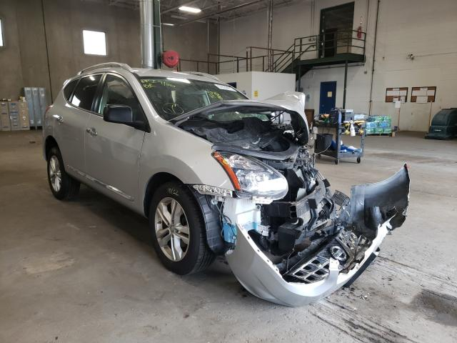 Salvage cars for sale from Copart Blaine, MN: 2015 Nissan Rogue Sele