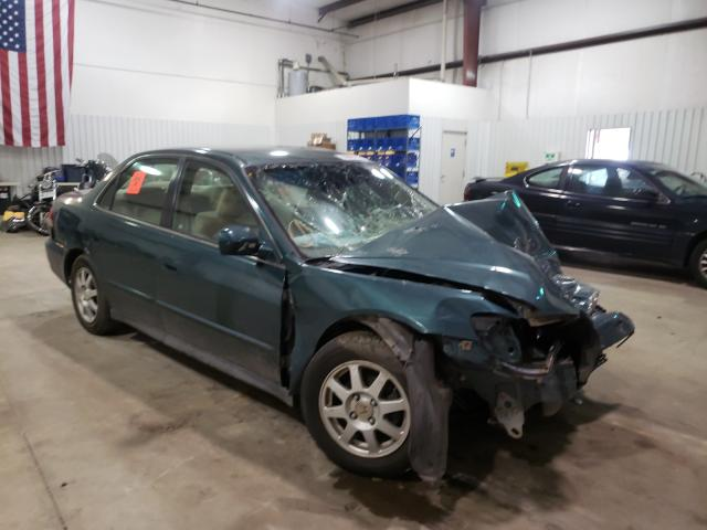 Salvage cars for sale from Copart Lufkin, TX: 2002 Honda Accord