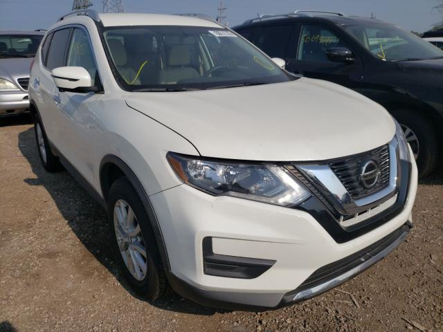 Salvage cars for sale from Copart Elgin, IL: 2018 Nissan Rogue S