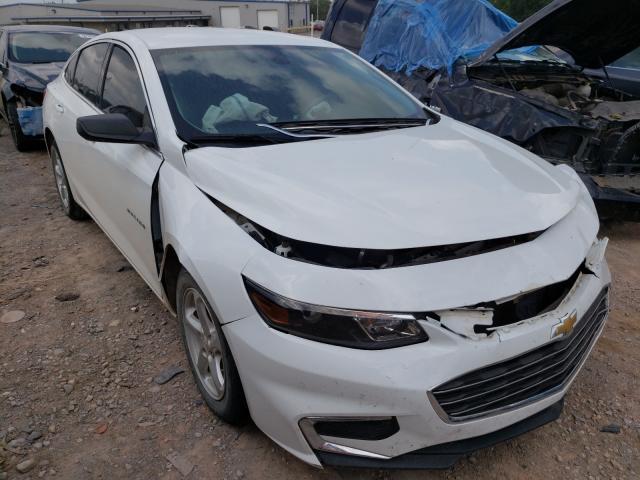 Vehiculos salvage en venta de Copart Oklahoma City, OK: 2017 Chevrolet Malibu LS
