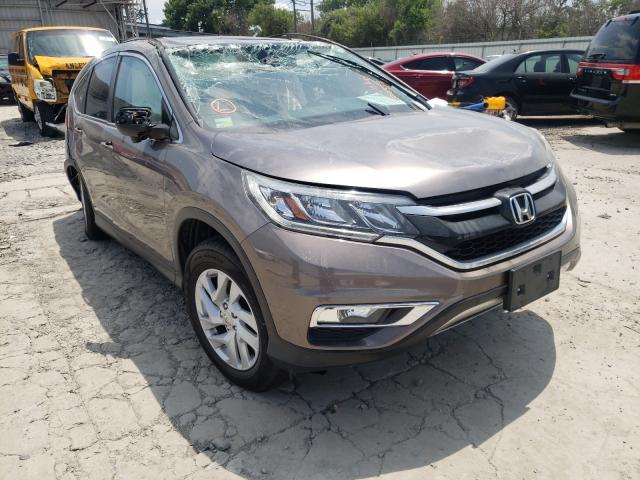 Vehiculos salvage en venta de Copart Corpus Christi, TX: 2015 Honda CR-V EX