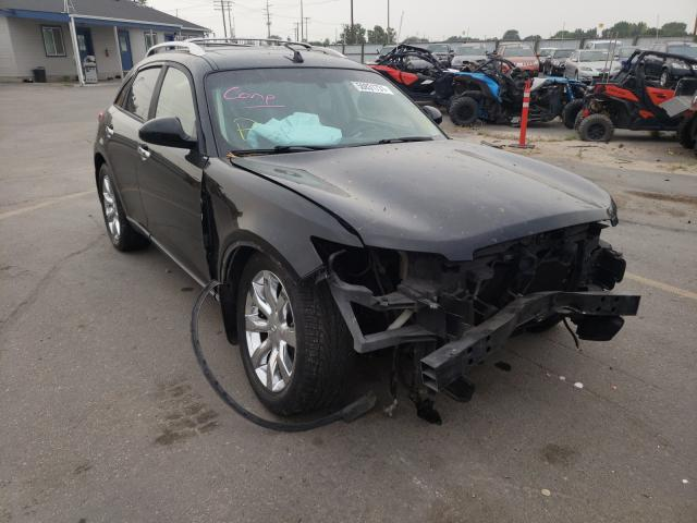 Salvage cars for sale at Nampa, ID auction: 2004 Infiniti FX35