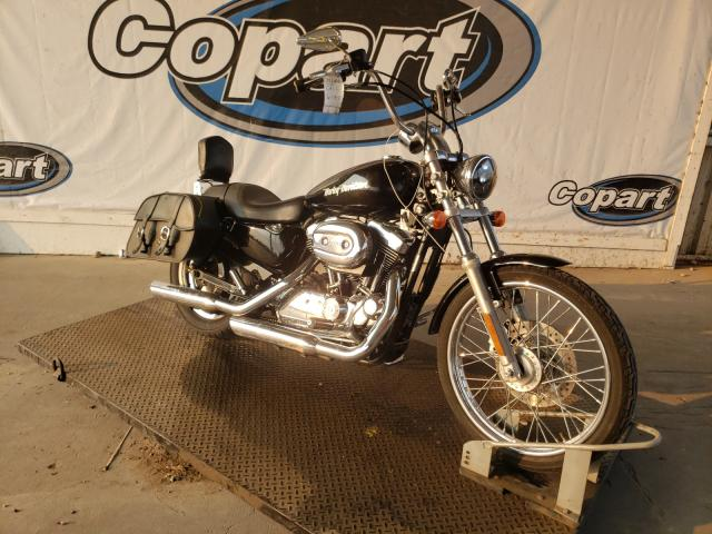 Salvage cars for sale from Copart Grand Prairie, TX: 2005 Harley-Davidson XL1200 C