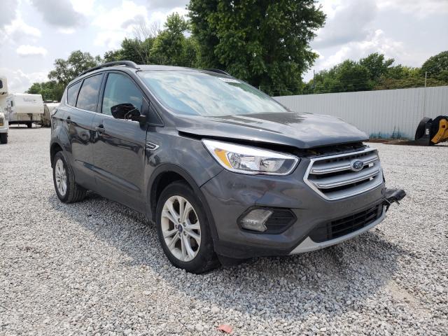 Vehiculos salvage en venta de Copart Wichita, KS: 2018 Ford Escape SE