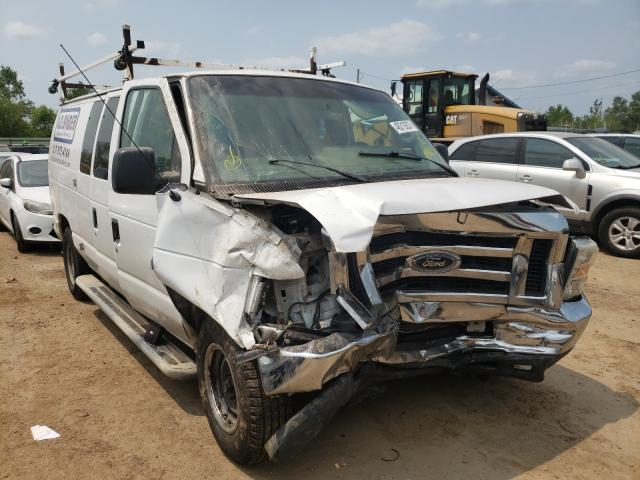 Salvage cars for sale from Copart Pekin, IL: 2010 Ford Econoline