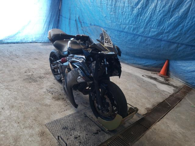Salvage motorcycles for sale at Northfield, OH auction: 2012 Kawasaki EX650 EC