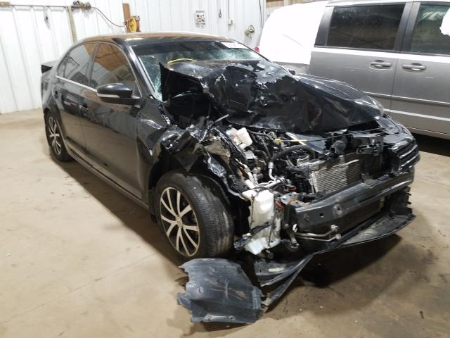 Salvage cars for sale from Copart Anchorage, AK: 2017 Volkswagen Jetta SE