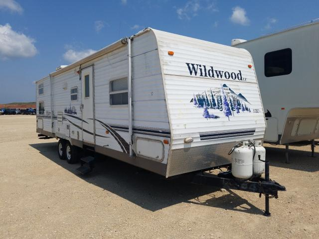 Salvage cars for sale from Copart Abilene, TX: 2006 Wildwood Wildwoodle