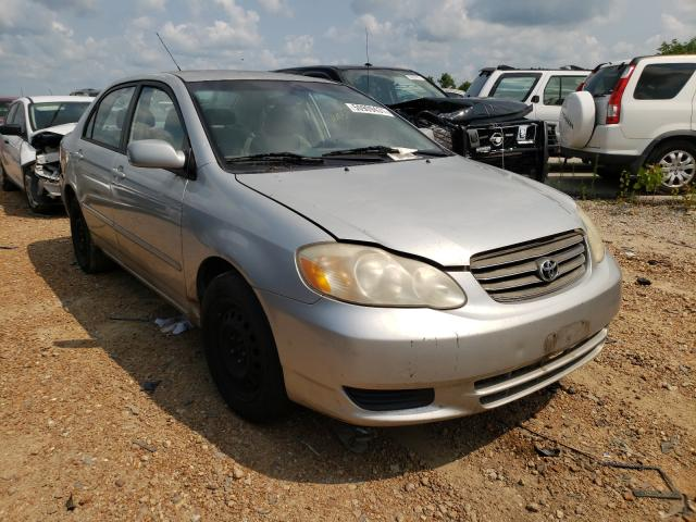 Salvage cars for sale from Copart Bridgeton, MO: 2004 Toyota Corolla CE