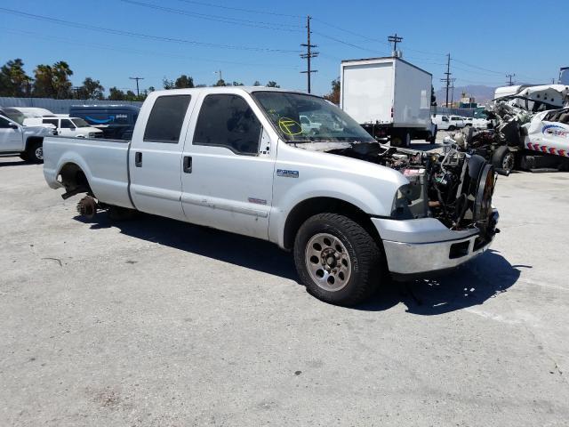 Vehiculos salvage en venta de Copart Sun Valley, CA: 2006 Ford F350 SRW S