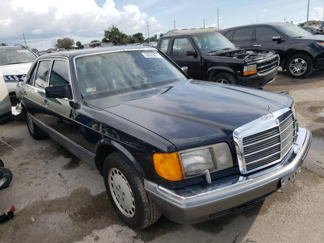 Salvage cars for sale from Copart Riverview, FL: 1990 Mercedes-Benz 560 SEL