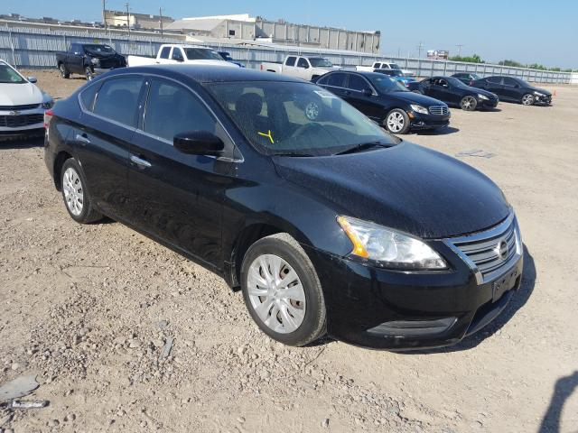 Salvage cars for sale from Copart Mercedes, TX: 2014 Nissan Sentra S