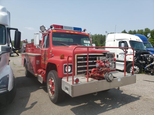 International salvage cars for sale: 1980 International Fire Truck