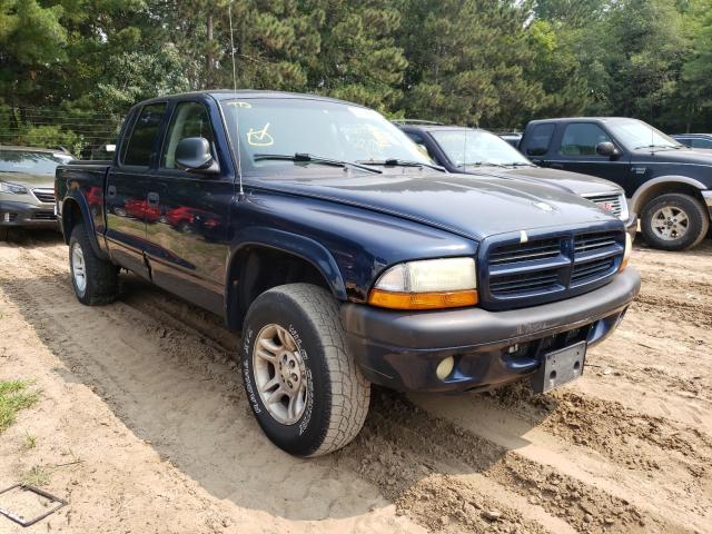 Dodge Dakota salvage cars for sale: 2002 Dodge Dakota