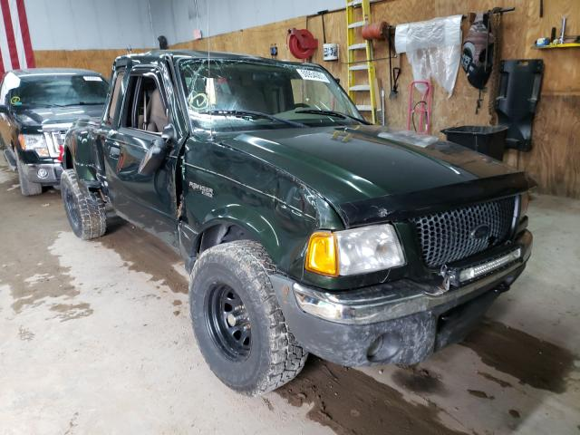 Salvage cars for sale from Copart Kincheloe, MI: 2001 Ford Ranger SUP
