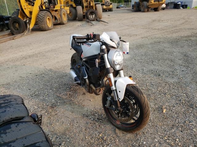 Salvage motorcycles for sale at Baltimore, MD auction: 2020 Ducati Monster 79