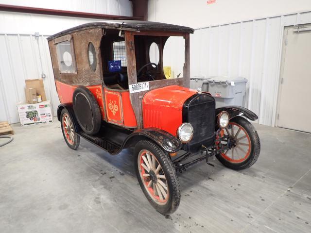 Vehiculos salvage en venta de Copart Spartanburg, SC: 1923 Ford Model T