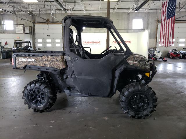 Salvage cars for sale from Copart Ham Lake, MN: 2021 Can-Am Defender X