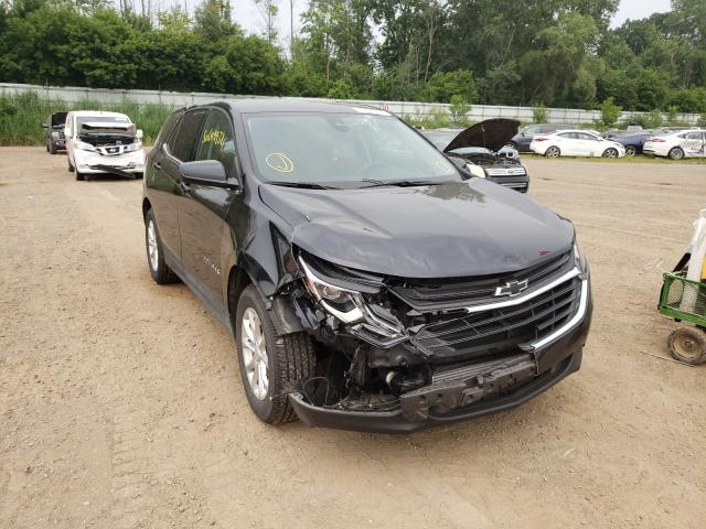 Salvage cars for sale from Copart Davison, MI: 2020 Chevrolet Equinox LT