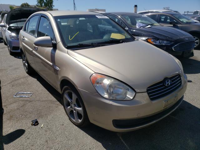 Hyundai Accent salvage cars for sale: 2007 Hyundai Accent