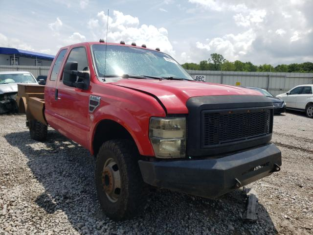 Salvage cars for sale from Copart Hueytown, AL: 2009 Ford F350 Super