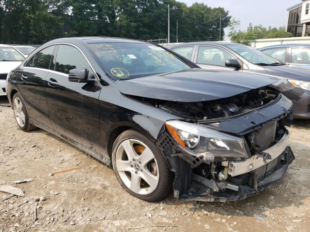 Salvage cars for sale from Copart Billerica, MA: 2018 Mercedes-Benz CLA 250 4M