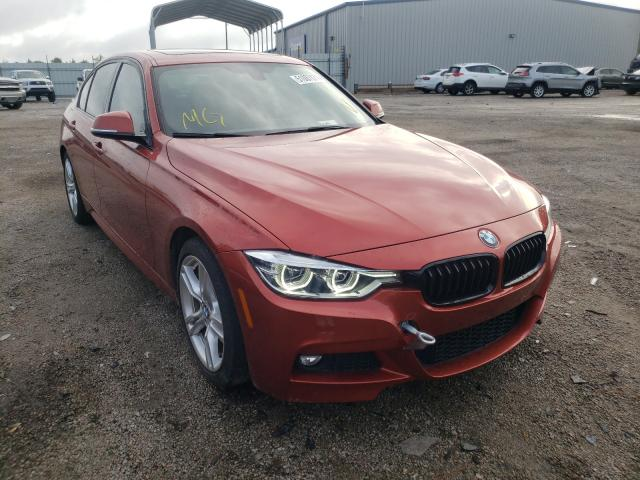 Salvage cars for sale from Copart Harleyville, SC: 2018 BMW 330 I