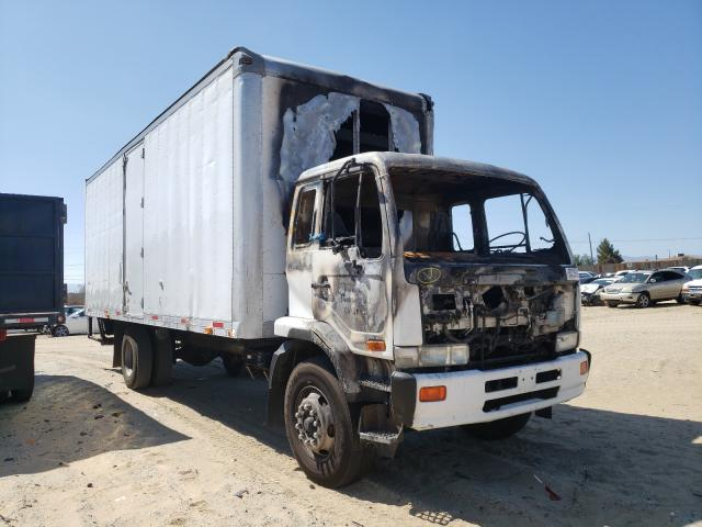 Salvage cars for sale from Copart Sun Valley, CA: 2009 Nissan Diesel UD2600