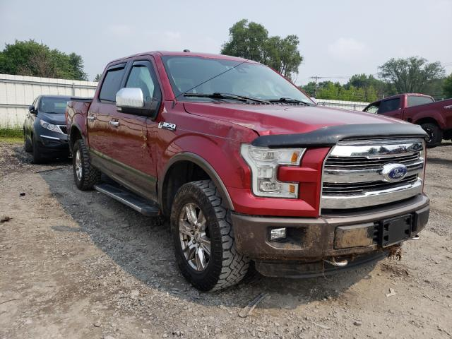 Salvage cars for sale from Copart Albany, NY: 2016 Ford F150 Super