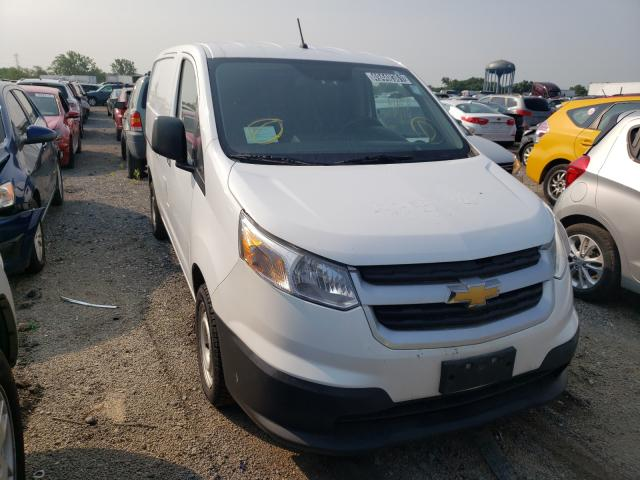 Salvage trucks for sale at Chicago Heights, IL auction: 2015 Chevrolet City Expre