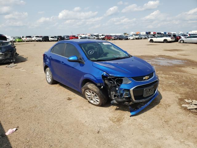 Salvage 2019 CHEVROLET SONIC - Small image. Lot 50949751
