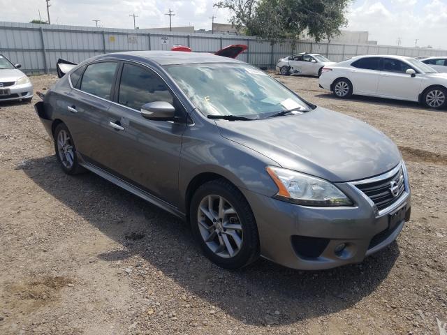 Vehiculos salvage en venta de Copart Mercedes, TX: 2015 Nissan Sentra S