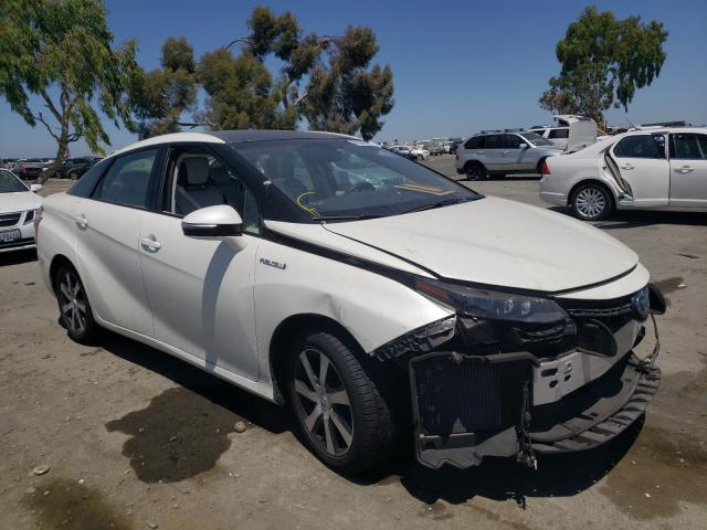 Salvage cars for sale from Copart Martinez, CA: 2017 Toyota Mirai