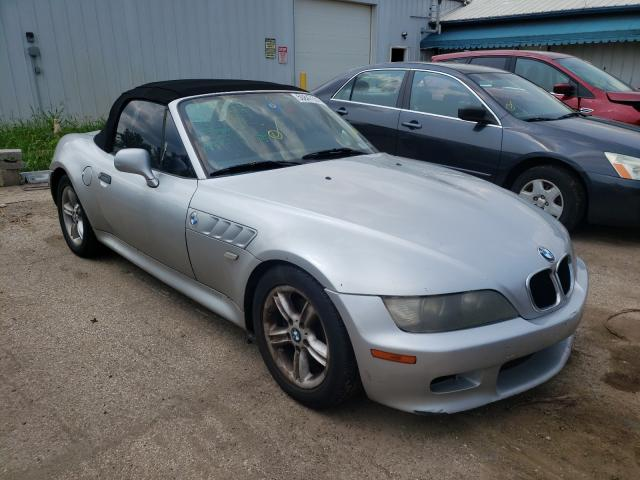 Salvage cars for sale from Copart Pekin, IL: 2000 BMW Z3 2.3