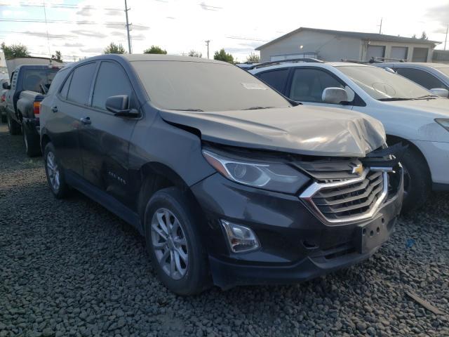 Vehiculos salvage en venta de Copart Eugene, OR: 2018 Chevrolet Equinox LS