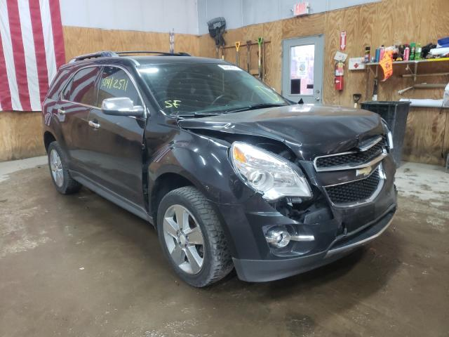 Salvage cars for sale from Copart Kincheloe, MI: 2013 Chevrolet Equinox LT