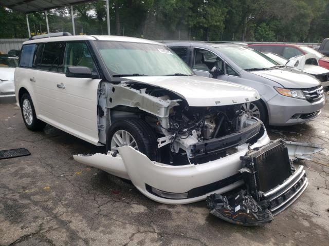 Salvage cars for sale from Copart Austell, GA: 2019 Ford Flex SEL