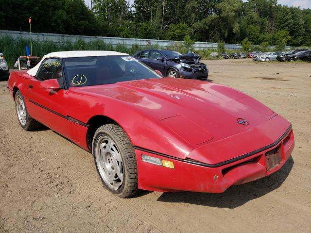 Chevrolet Corvette salvage cars for sale: 1990 Chevrolet Corvette