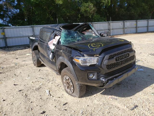 Salvage cars for sale from Copart Ocala, FL: 2017 Toyota Tacoma DOU