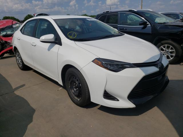 Salvage cars for sale from Copart Grand Prairie, TX: 2019 Toyota Corolla L