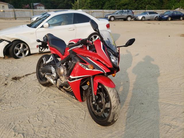 Salvage cars for sale from Copart Seaford, DE: 2018 Honda CBR650 F