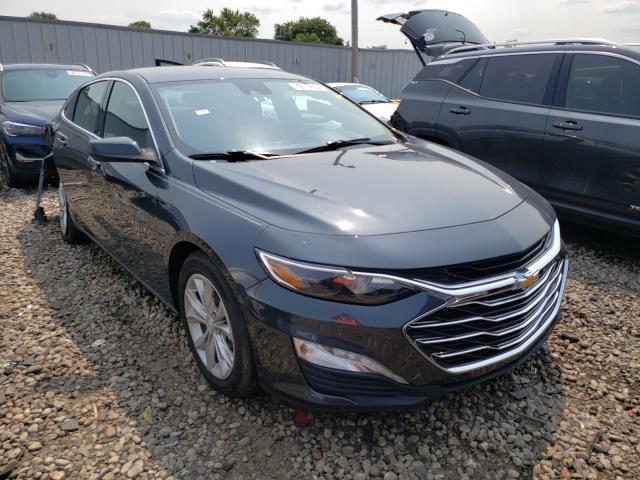 Salvage cars for sale from Copart Cudahy, WI: 2019 Chevrolet Malibu LT