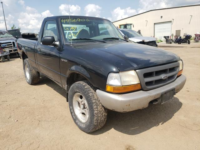 Salvage cars for sale from Copart Des Moines, IA: 2000 Ford Ranger