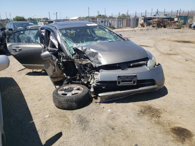Salvage cars for sale from Copart San Martin, CA: 2007 Honda Civic EX