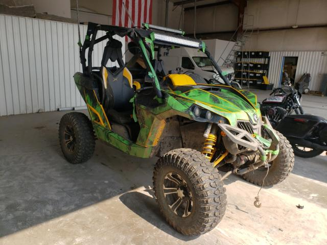 Salvage motorcycles for sale at Tulsa, OK auction: 2015 Can-Am Maverick 1