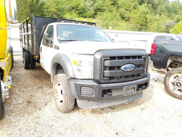 Salvage cars for sale from Copart Hurricane, WV: 2012 Ford F450 Super
