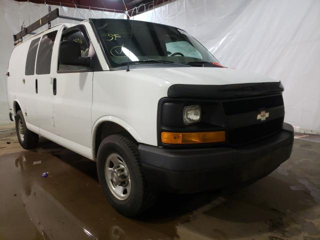 Salvage cars for sale from Copart Central Square, NY: 2012 Chevrolet Express G2